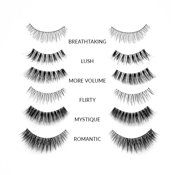 False Eyelashes - Romantic